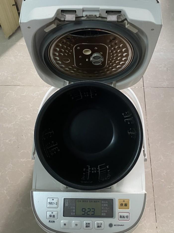 Nồi cơm điện cao tần IH-PANASONIC 1.8L màu trắng tinh khôi4