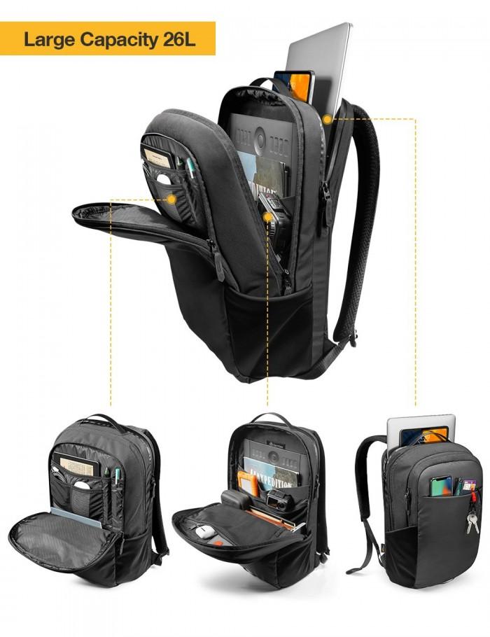 Balo Tomtoc (USA) Premium Urban Business For Ultrabook 15.6″ (H61) - MSN18154