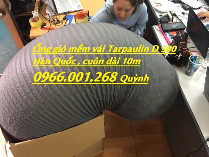 Phân phối ống gió mềm vải chịu nhiệt Tarpaulin, Fiber, Simili phi 100, phi 1251