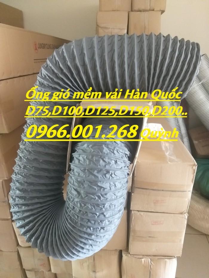 Phân phối ống gió mềm vải chịu nhiệt Tarpaulin, Fiber, Simili phi 100, phi 1254