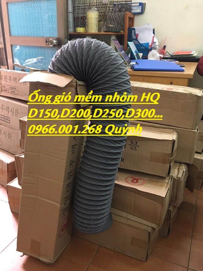 Phân phối ống gió mềm vải chịu nhiệt Tarpaulin, Fiber, Simili phi 100, phi 1256