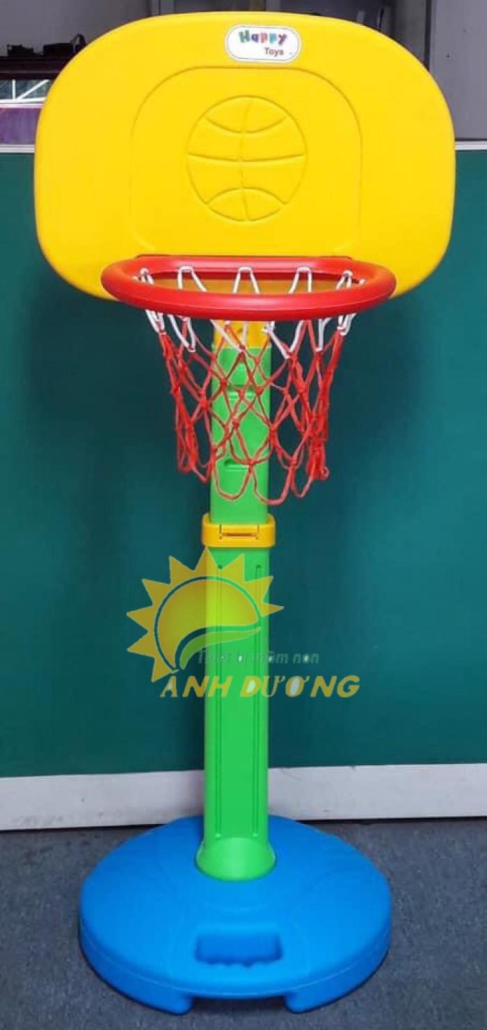 Trụ bóng rổ trẻ em cho trường mầm non, công viên, KVC, TTTM
