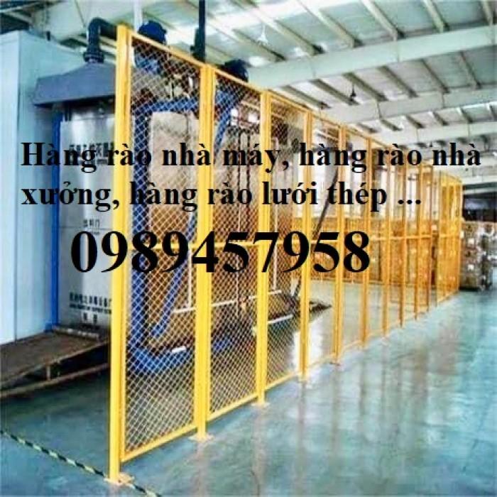 Lưới hàng rào nhà kho, Lưới ngăn kho, Lưới bảo vệ máy móc4