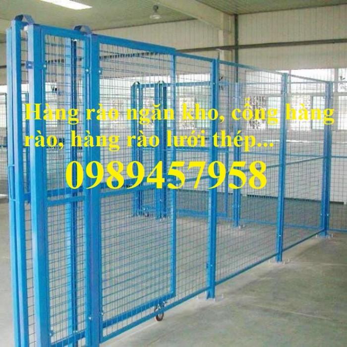 Lưới hàng rào nhà kho, Lưới ngăn kho, Lưới bảo vệ máy móc6