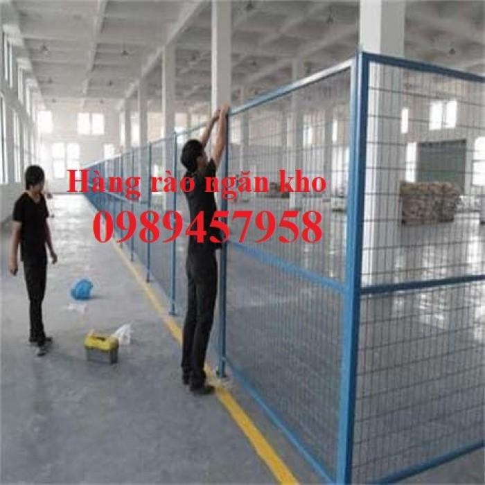 Lưới hàng rào nhà kho, Lưới ngăn kho, Lưới bảo vệ máy móc8