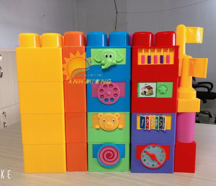 Đồ chơi lắp ghép gồm nhiều chi tiết lớn cho bé mầm non7