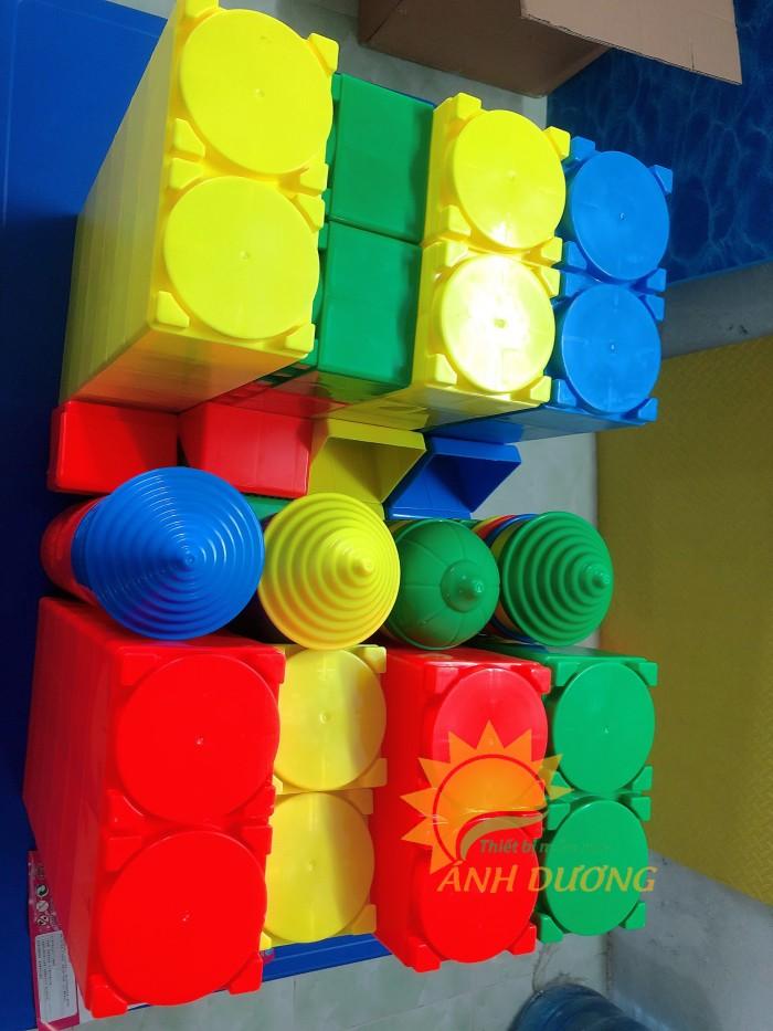 Đồ chơi lắp ghép gồm nhiều chi tiết lớn cho bé mầm non10