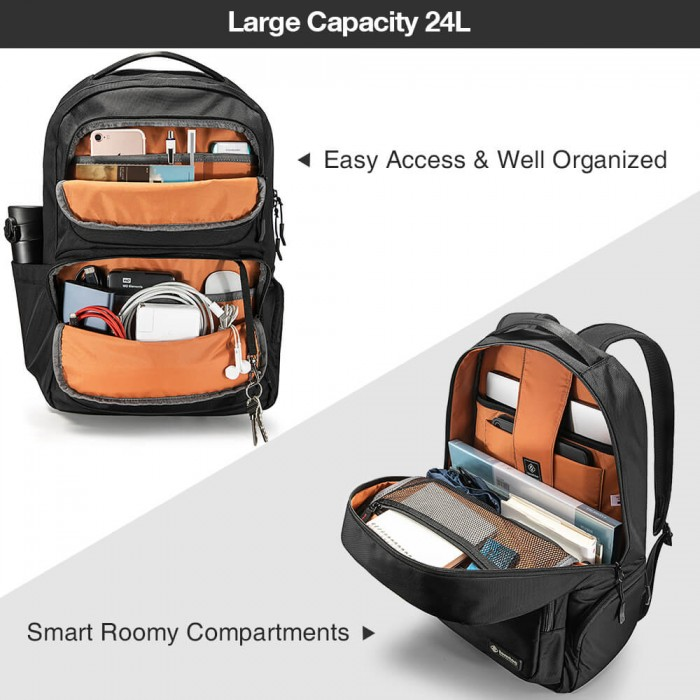 Balo Tomtoc (USA) Travel Backpack Ultrabook 15.6/24L (A77) - MSN181548