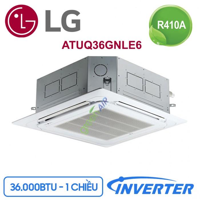 Máy lạnh âm trần LG Inverter ATUQ36GNLE6 4HP2