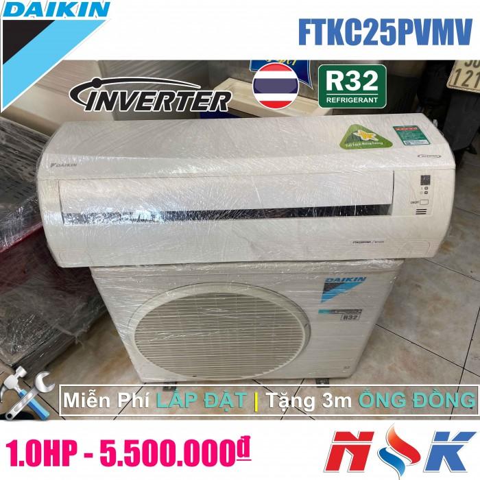 Máy lạnh Daikin Inverter FTKC25PVMV 1HP0