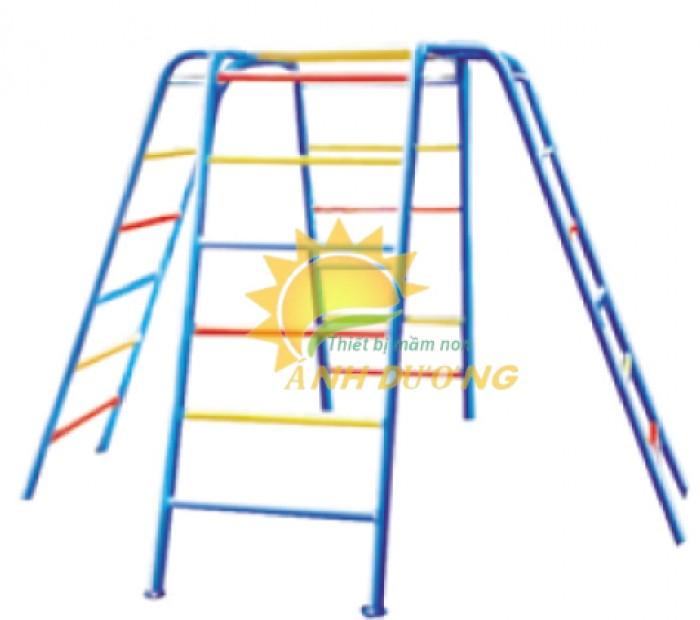 Chuyên sản xuất thang leo thể chất trẻ em cho trường mầm non, công viên, KVC0