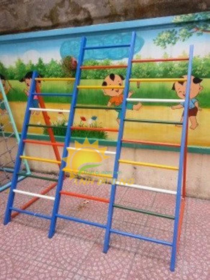 Chuyên sản xuất thang leo thể chất trẻ em cho trường mầm non, công viên, KVC3