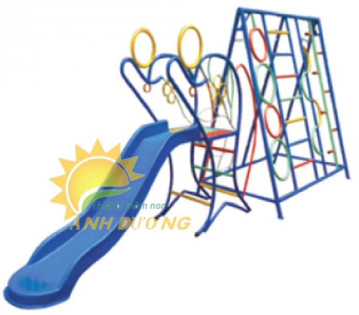 Chuyên sản xuất thang leo thể chất trẻ em cho trường mầm non, công viên, KVC1