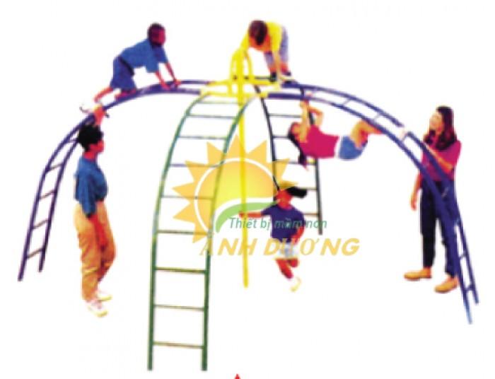 Chuyên sản xuất thang leo thể chất trẻ em cho trường mầm non, công viên, KVC2
