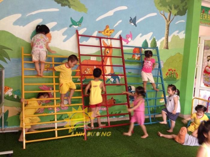 Chuyên sản xuất thang leo thể chất trẻ em cho trường mầm non, công viên, KVC4