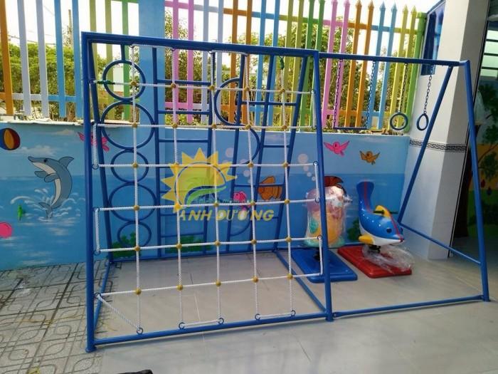 Chuyên sản xuất thang leo thể chất trẻ em cho trường mầm non, công viên, KVC6