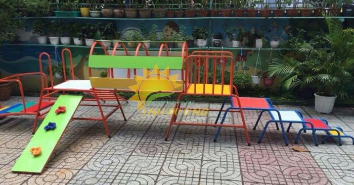 Chuyên sản xuất thang leo thể chất trẻ em cho trường mầm non, công viên, KVC5