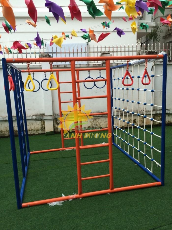 Chuyên sản xuất thang leo thể chất trẻ em cho trường mầm non, công viên, KVC15