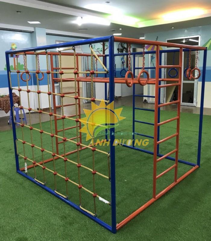 Chuyên sản xuất thang leo thể chất trẻ em cho trường mầm non, công viên, KVC12
