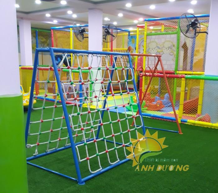 Chuyên sản xuất thang leo thể chất trẻ em cho trường mầm non, công viên, KVC14