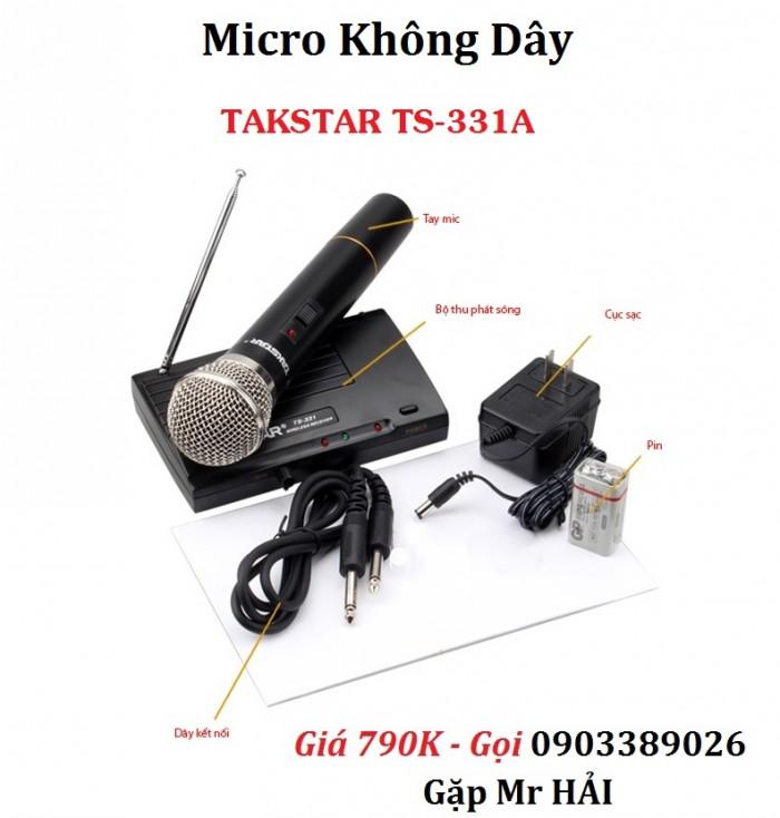 Micro Không dây TAKSTAR TS-331A hàng chính hãng, giá rẻ