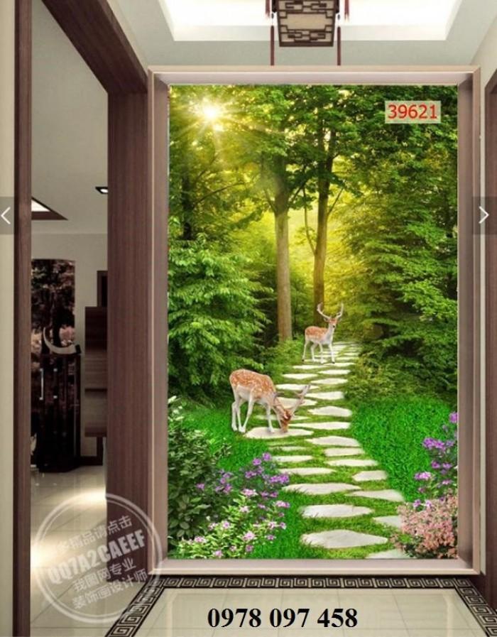 Tranh phong cảnh đẹp - tranh gạch1