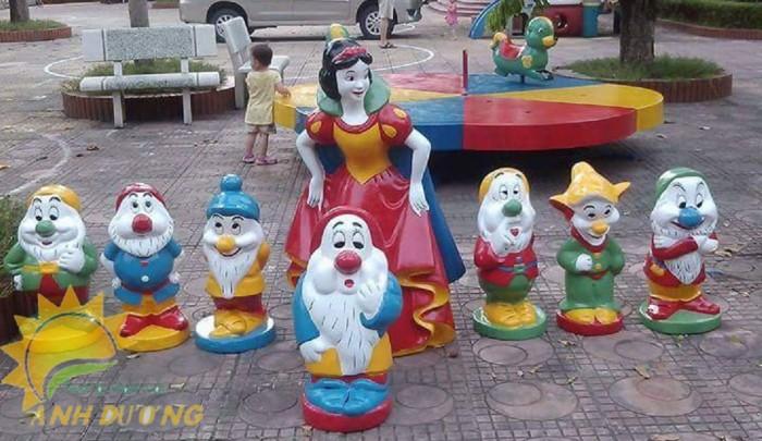 Cung cấp tượng vườn cổ tích trẻ em cho trường mầm non, khu vui chơi, sân chơi0