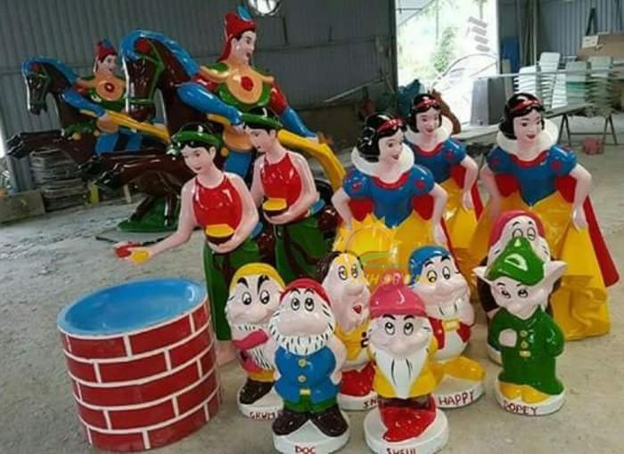 Cung cấp tượng vườn cổ tích trẻ em cho trường mầm non, khu vui chơi, sân chơi1