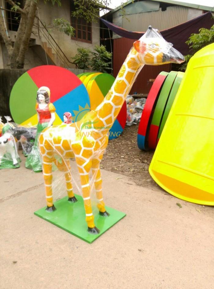 Cung cấp tượng vườn cổ tích trẻ em cho trường mầm non, khu vui chơi, sân chơi6