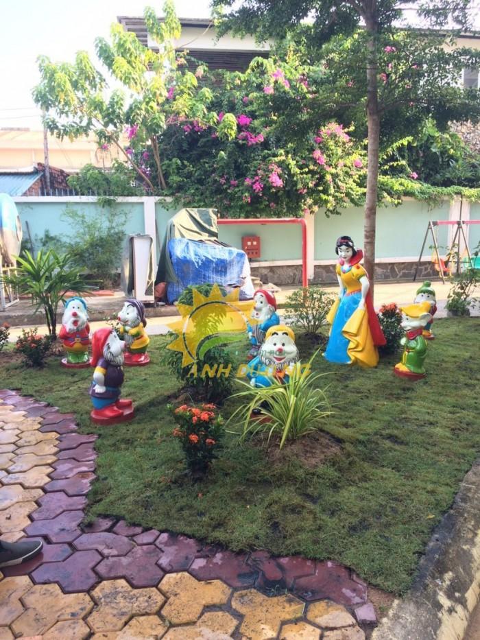 Cung cấp tượng vườn cổ tích trẻ em cho trường mầm non, khu vui chơi, sân chơi15