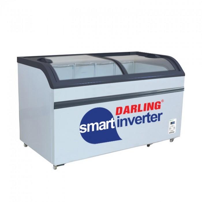 Tủ đông Darling Inverter DMF-7079ASKI 500 lít đồng R600A Trưng Bày Kem0