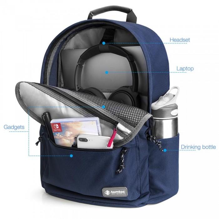 Balo Tomtoc (USA) Unisex Travel Macbook 15 Dark Blue A71 (E01B01) - MSN181562