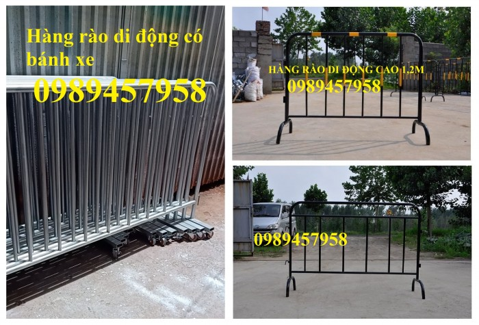 Hàng rào di động, Hàng rào chấn sóng, hàng rào lượn sóng3