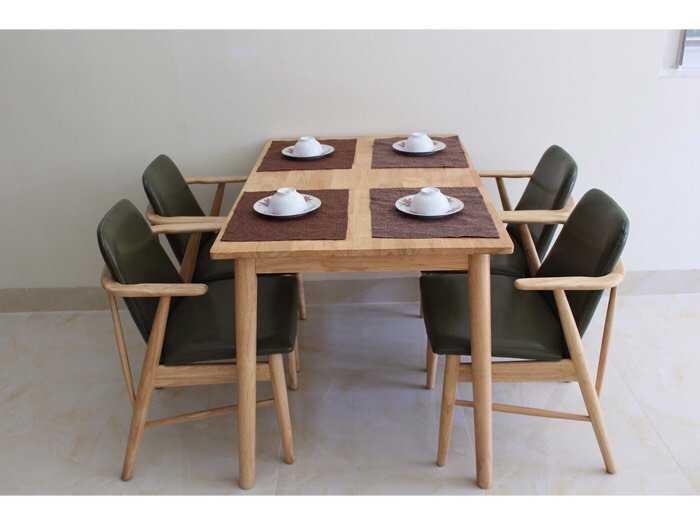 Ghế gỗ cafe trà sữa đẹp giá rẻ ghế Kami3
