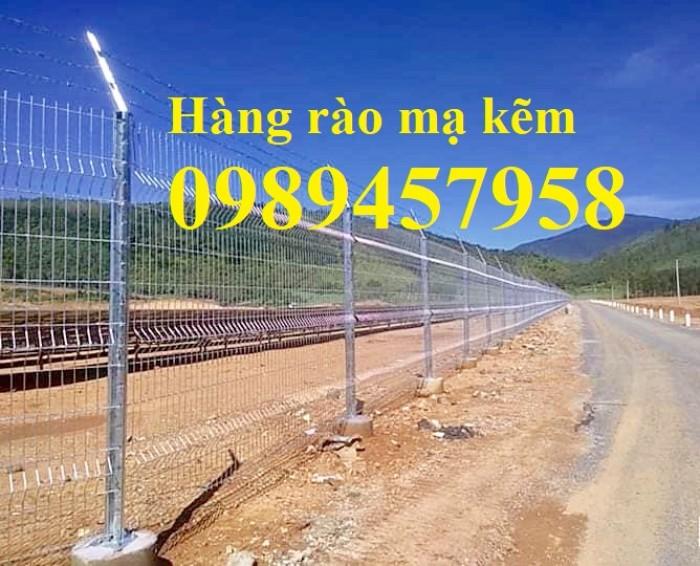 Hàng rào mạ kẽm nhúng nóng phi 5, phi 6 ô 50x50, 50x100, 50x150, 50x200, 75x2008
