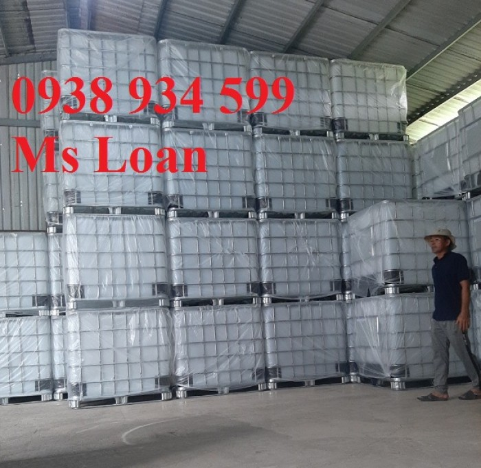 Bán bồn nhựa đựng hóa chất 1000 lít,bồn nhựa IBC 1000 lít,tank nhựa IBC 1000 lít3