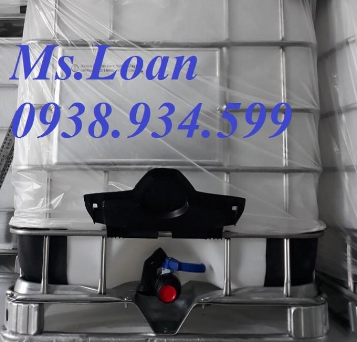 Bán bồn nhựa đựng hóa chất 1000 lít,bồn nhựa IBC 1000 lít,tank nhựa IBC 1000 lít4
