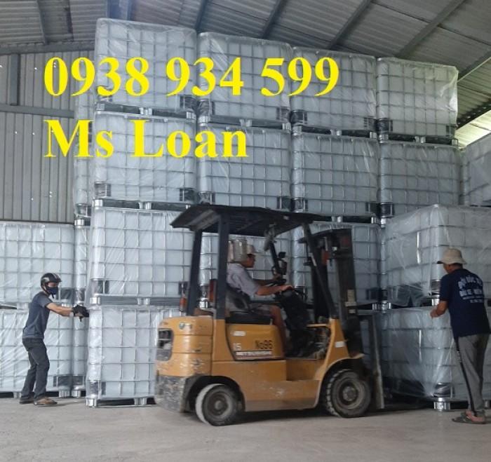 Bán bồn nhựa đựng hóa chất 1000 lít,bồn nhựa IBC 1000 lít,tank nhựa IBC 1000 lít5