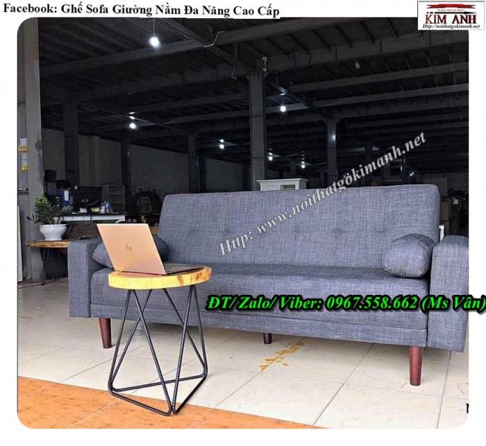 Ghế sofa giường nỉ1