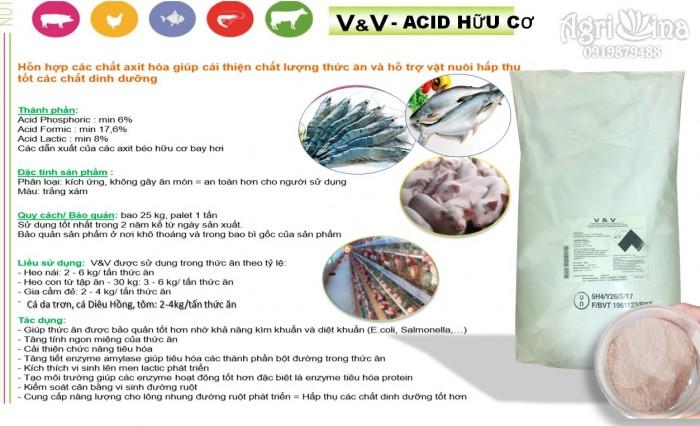 Acid hữu cơ V&V0