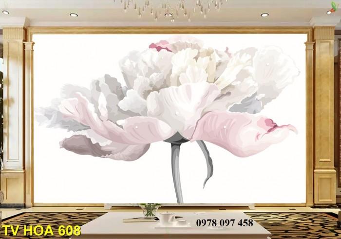 Tranh hoa 3D - tranh gạch2