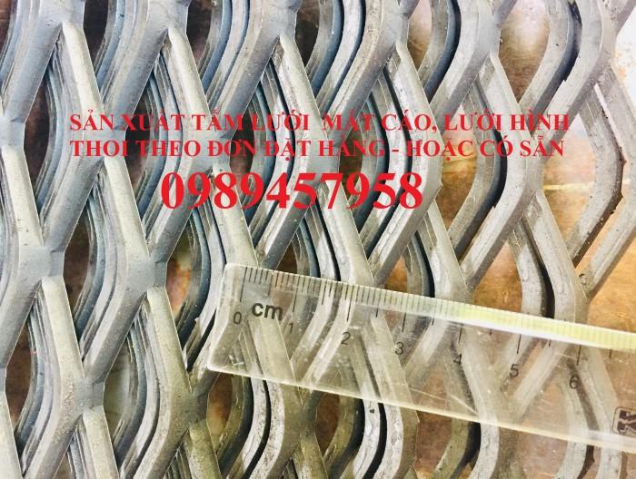 Lưới thép trang trí hàng rào, Lưới hình thoi, Lưới mắt cáo 20x40, 30x60 x 3ly5