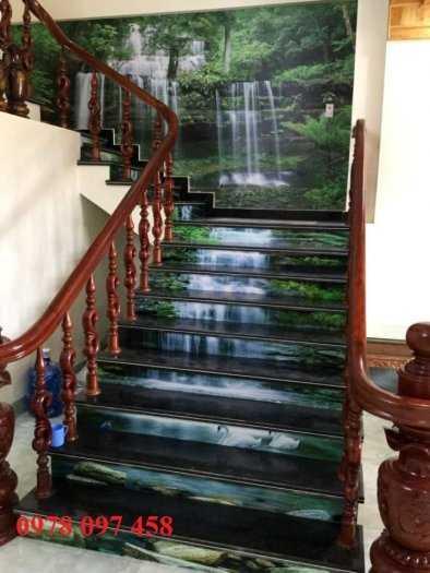 Tranh trang trí cầu thang2