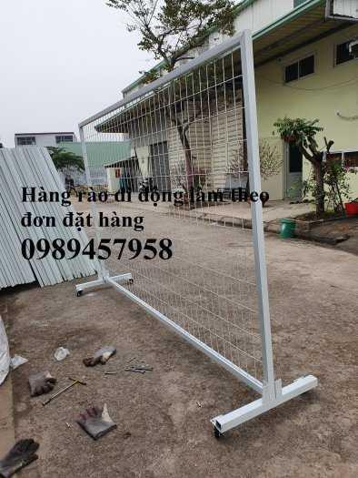 Hàng rào khung di động, Hàng rào 1m5x2,5m, 1,8m, 2m, 2,2m10