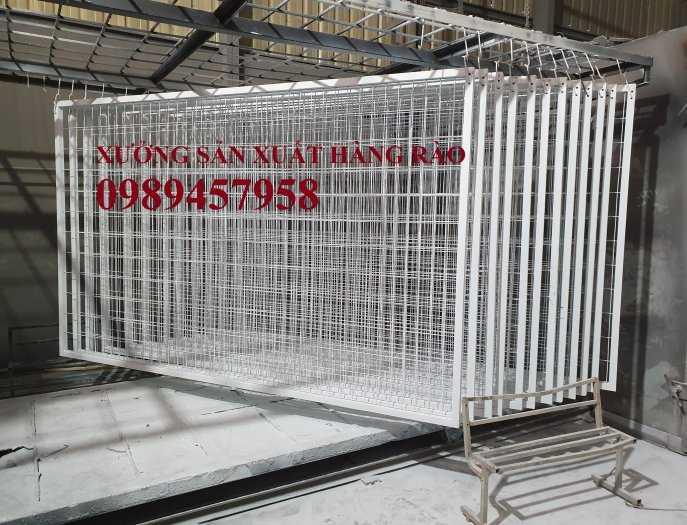 Hàng rào khung di động, Hàng rào 1m5x2,5m, 1,8m, 2m, 2,2m9