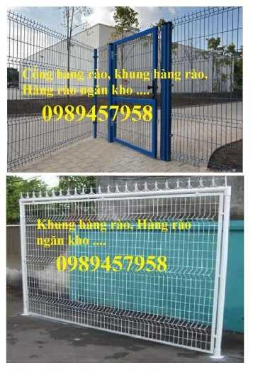 Hàng rào khung di động, Hàng rào 1m5x2,5m, 1,8m, 2m, 2,2m1