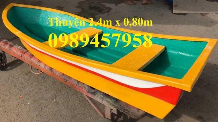 Thuyền chèo tay cho 2-3 người giá rẻ - Thuyền composite3