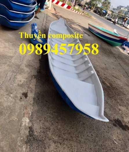 Thuyền chèo tay cho 2-3 người giá rẻ - Thuyền composite1