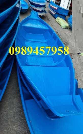 Thuyền chèo tay cho 2-3 người giá rẻ - Thuyền composite0