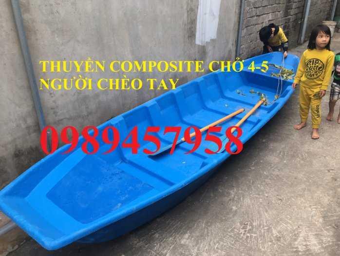 Thuyền nhựa 3m, Thuyền composite 2,4m 3m, 3,5m 4m, 4,6m 5m - Thuyền chèo tay3